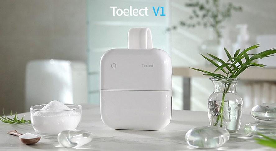 Toelect: hệ thống làm sạch buồn tắm